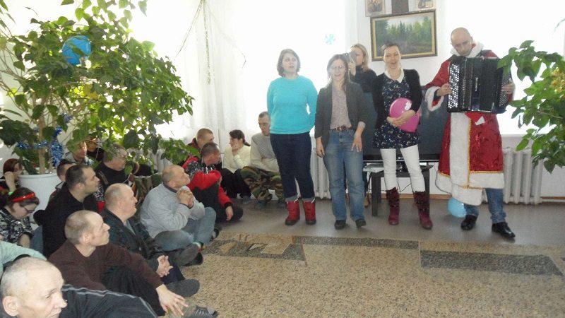 Рождественское поздравление волонтеров