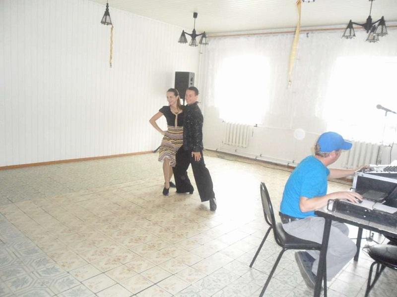 Танцоры танго