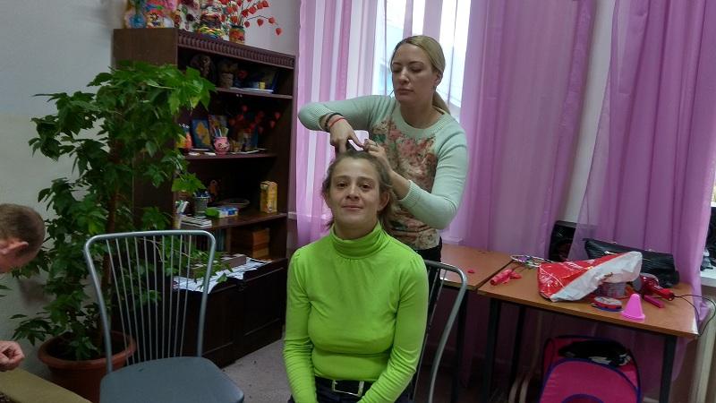 Делаем причёски