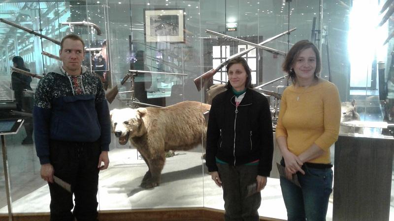 Возле медведя